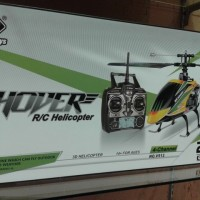 KP3532 RC HELICOPTER WL TOYS V912 4 CHANNEL 24 GHZ KODE TYR3588