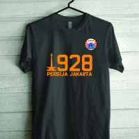 Kaos Tshirt Baju Combed 30S Persija 1928 Grade Ori Murah Jersey Futsal