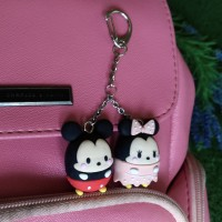 Jual gantungan tas bag charm disney tsum tsum mickey mouse handmade clay Murah