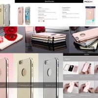 Rock Infinite Mirror Case iPhone 6 Plus