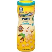 Jual Gerber Gradutes puffs cereal snack Vanila flavored Murah