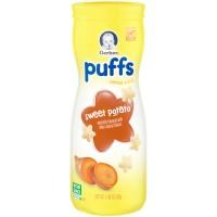 Jual Gerber Puffs Cereal Snack Sweet potato naturally flavored Murah