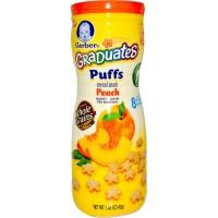 Jual Gerber puff Cereal snack Peach natural flavour 42 gram Murah