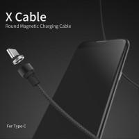 Jual Original WSKEN X-Cable Magnetic Type C Cable 2.1A 1M Type-C Murah