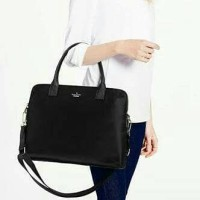 Kate Spade Daveney Laptop Black Nylon. Tas Laptop Wanita Branded