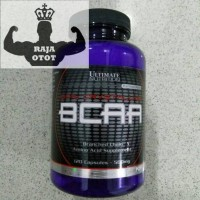 Jual BCAA Ultimate Nutrition 120Caps 500 mg UN BCAA 120 Suplemen Fitness Murah