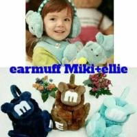 Jual Earmuff Mickey Mouse - Ellie / Penutup Telinga Baby-Anak Murah