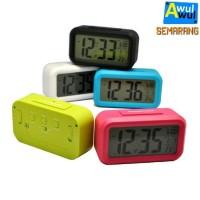 Jual Jam Alarm Unik Digital dengan Sensor Cahaya | Jam Weker | Jam Beker Murah