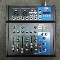 Mixer audio mini MX 400 USB player 4 ch