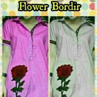 Dress/Midi/Mini/Gaun/Terusan Santai/Casual/Kasual Gucci Flower Bordir