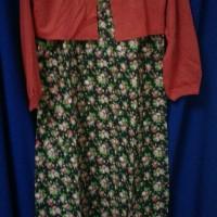 Baju Gamis Anak Oka Oke - size 8 - Bunga