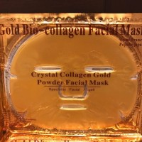 Gold Crystal Bio Collagen Face Mask / Facial Masker Muka Emas