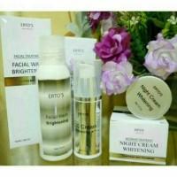 Jual paket perawatan wajah ertos /ERTO'S skin care Murah