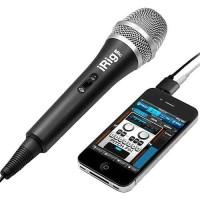 IK Multimedia iRig Mic - Handeld Condenser Mic for Smartphone and Tab