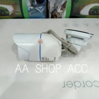 Paket 2 kamera Outdoor AHD 3MP + 2 kabel jadi 20Meter + 2 Adaptor 2A