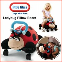 READY STOCK LITTLE TIKES 2IN1 PILLOW RACER - LADYBUG MAINAN RIDE ON