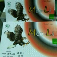 Men Li Menli Herbal Pria ( Gasa, Xpand, Foredi )