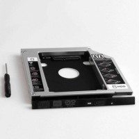HDD Caddy Bracket DVD to HDD laptop Dell Latitude E6430 Series