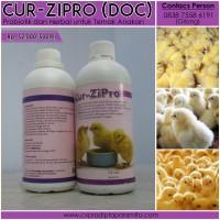 """Cur-Zipro 500 ml"" Obat Herbal untuk Unggas"