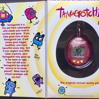 Jual Tamagotchi Bandai The Original Clear Pink Murah