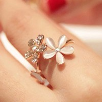 cincing bunga / ring flower