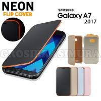 New!!! Samsung Neon Flip Cover Galaxy A Series A3/A5/A7 2017 (A234)