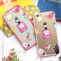 iPhone Case Casing Chanel No5 Perfume Pink 6