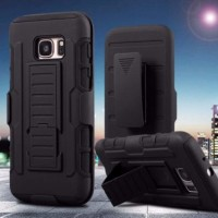 Casing Cover Hp SAMSUNG A7 2017 Military Armor Case - Kick Stand