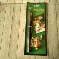 Alat Pancing Berbentuk Pulpen 1M / Portable Pen Fishing