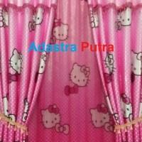 Jual Gorden Hello Kitty 145 X 225 Murah