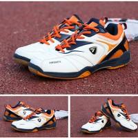 Jual Baru..!! Sepatu Badminton/Bulutangkis/Tennis KETA 115 White Navy Murah