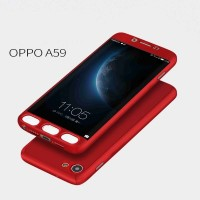Jual Hardcase Case 360 Oppo F1s / A59 Casing Free Tempered Glass Murah