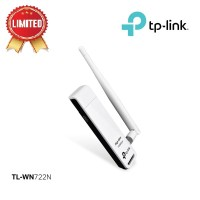 TP-LINK TL-WN722N 150Mbps High Gain Wireless USB Adapter - White