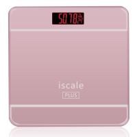 Jual Timbangan Badan Digital dengan Indikator Suhu - Pink Murah