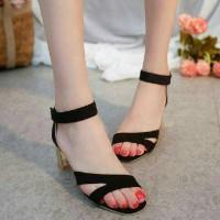Jual Jual Sandal High Heels Wanita Hak Tahu SDH158 Murah