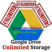 Akun Google Drive Unlimited Storage Selamanya
