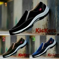 Jual Sepatu Kickers Slop Kulit Suede Pria Murah/ termurah Murah