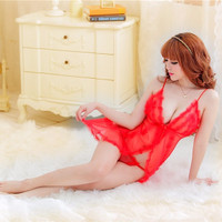 Jual Lingerie Sexy Sleep Wear Transparant Babydoll G-string - Lad SEXY LING Murah