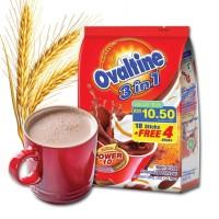 Jual Ovaltine 3 in 1 18 Sachet + 4 Sachet 30 G Murah