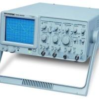 GW Instek GOS-622G Analogue Oscilloscope (20MHz Bandwidth)