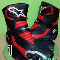 harga Sepatu Motor Touring Funrace Funbike Alpinestars 23#01 Tokopedia.com