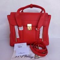 Phillip Lim Pashli Medium Satchel Red