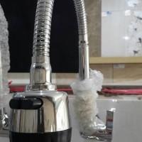 Jual Kran Air/Fleksibel Kepala Besar/ Keran Dapur/Kran Bak Cuci Piring Murah