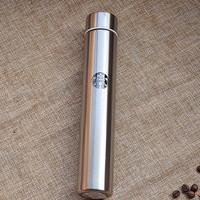Jual SALE Termos botol minum Starbucks slim stainless steel 300ml korean st Murah