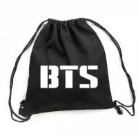 Jual BTS Drawstring Bag/ Tas serut BTS/Bahan Taslan Murah
