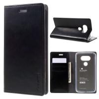 Flipcase Goospery Leather Dompet Book Flip Case Cover Casing LG V20