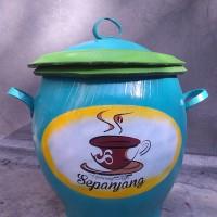 Tempat Sampah / Tong Sampah Karet Motif Bebas Gambar / Ongkir Murah