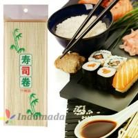 Tikar Penggulung Sushi Dari Bambu Bekal Makan  Jepang