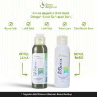 Green angelica hair shampo untuk rambut rontok