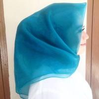 ready hijab segi empat organdi/hijab square/hijab style
